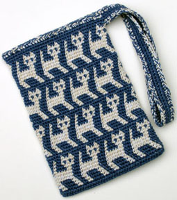 Crochet Purse Bag : Gauge: 7 stitches = 1 inch; 6 rows + 1 inch (different with another ...