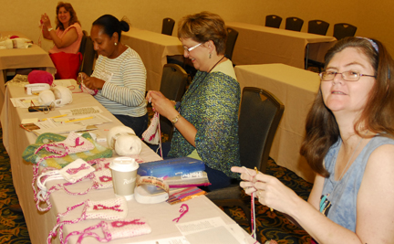 Crocheting Classes : Classes and Workshops ? Tapestry Crochet