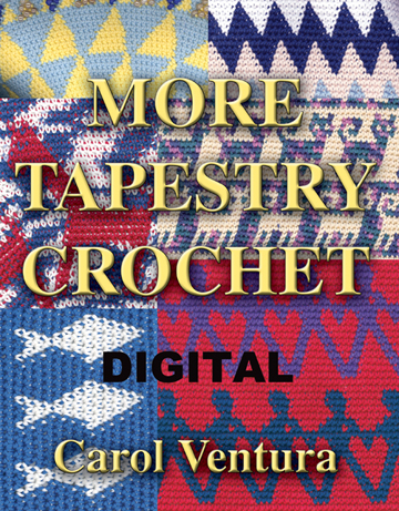 Kindle Edition of More Tapestry Crochet book