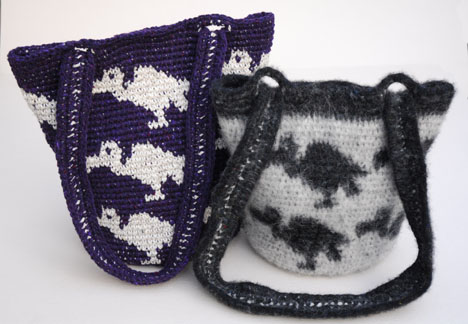 Vulture Purse and Carrion Bag