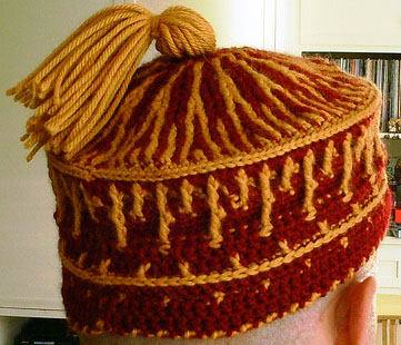 Andy's Gryffindor Hat