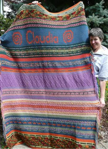 Annie crocheted this for Claudia