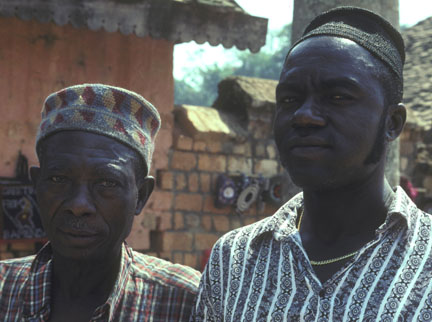 Men in Bafut, Cameroon