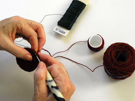 Caroline Routh Tapestry Crocheting