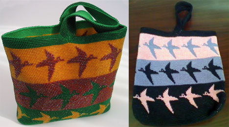 Tapestry Crochet Rasta Bag