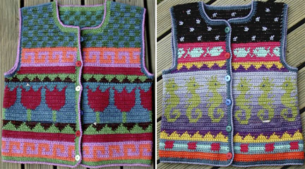 Does Tapestry Crocheted Vests