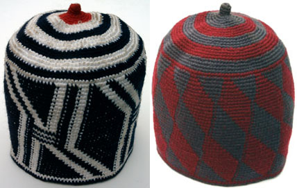 Hats from Dschang, Cameroon