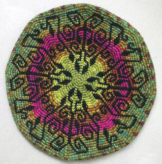 Tapestry Crochet Beret by Esther Holsen