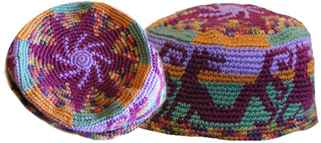 Tapestry Crochet Cap by Esther Holsen