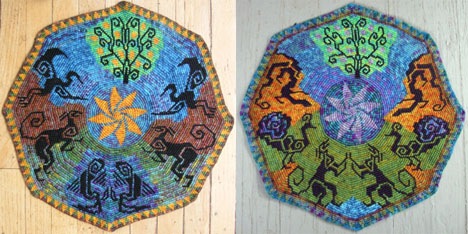 Esther's Apples of the Sun and the Moon Tapestries