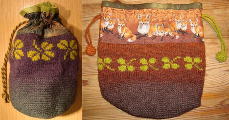 Eva's Crocheted, Knit, and Sewn Bags