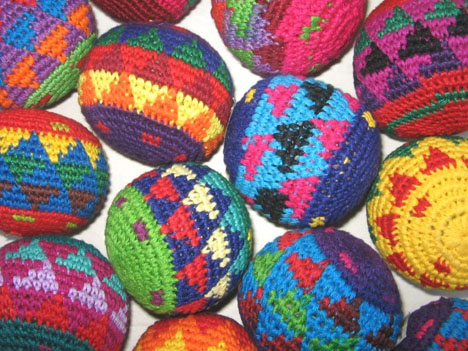 Hacky Sacks form Guatemala