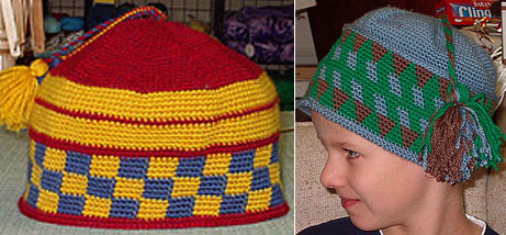 Joel's Tapestry Crocheted Hats