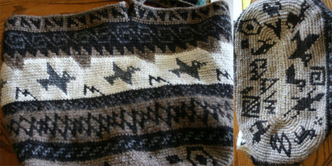 Kris King's Tapestry Crocheted Bag