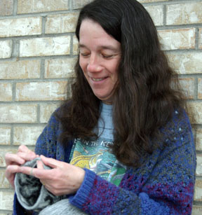 Kris King tapestry crocheting