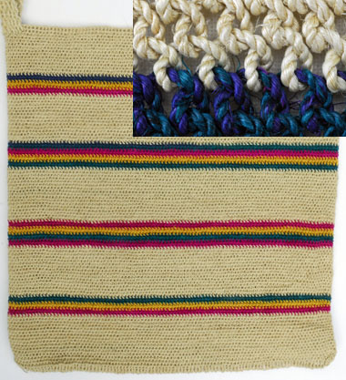 Looped Bag from Guatemala