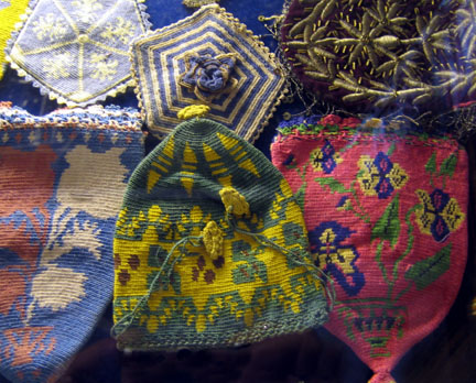 Bags in Costume Museum, Turkey