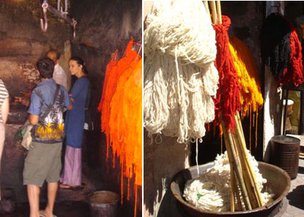 Wool in Morocco