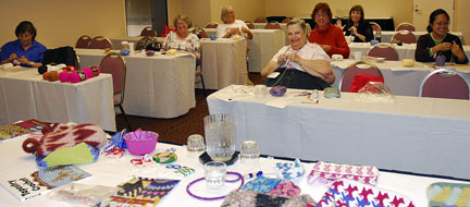 Bead tapestry crochet bag class