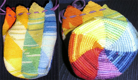 Siglinde's 2006 tapestry crochet bag