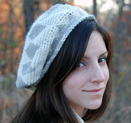 Tapestry Crocheted Star Hat