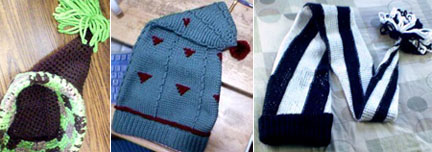 Bob's Tapestry Crochet Stocking Hats