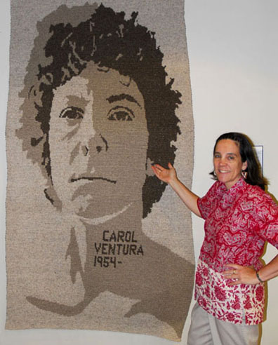 Carol Ventura and Self Portrait