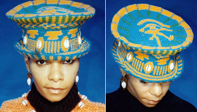 Wanda's tapestry crocheted hat